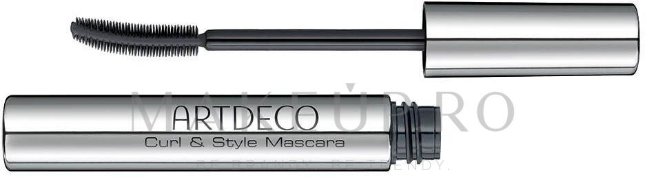 Rimel - Artdeco Curl & Style Mascara — Imagine Black