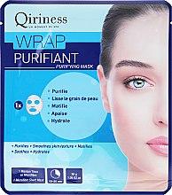 Parfumuri și produse cosmetice Mască de țesut pentru față - Qiriness Wrap Purifiant Mask