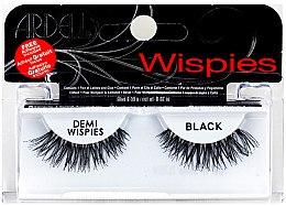 Parfumuri și produse cosmetice Gene false + adeziv - Ardell Demi Wispies Black