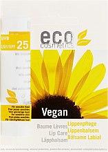 Parfumuri și produse cosmetice Balsam de buze SPF 25 - Eco Cosmetics Lip Care SPF 25