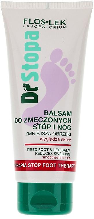 Balsam pentru îndepărtarea oboselii picioarelor - Floslek Dr Stopa Foot Therapy Tired Foot And Leg Balm — Imagine N1
