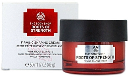 Parfumuri și produse cosmetice Cremă cu efect de lifting, de zi - The Body Shop Roots Of Strength Firming Shaping Cream