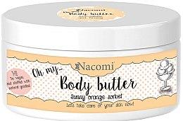 Parfumuri și produse cosmetice Ulei de corp - Nacomi Body Butter Sunny Orange Sorbet