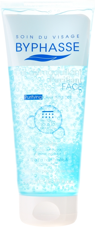Gel pentru curățarea profundă a tenului - Byphasse Purifying Cleansing Gel All Skin Types