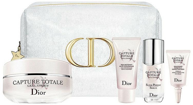 Set - Dior Capture Totale Holiday Set (f/cr/50ml + f/cleanser/15ml + f/ser/10ml + eye/cr/5ml) — Imagine N1