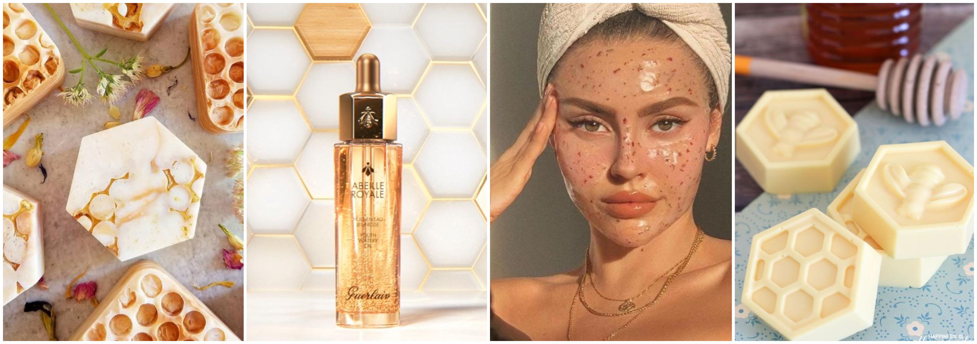 Cosmetice cu miere - un deliciu pentru piele
