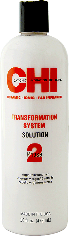 Loțiune pentru îndreptarea părului Formula A, faza 2 - CHI Transformation Bonder Formula A — Imagine N1
