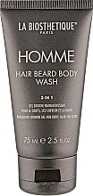 Parfumuri și produse cosmetice Gel pentru corp, păr și barbă - La Biosthetique Homme Hair Beard Body Wash