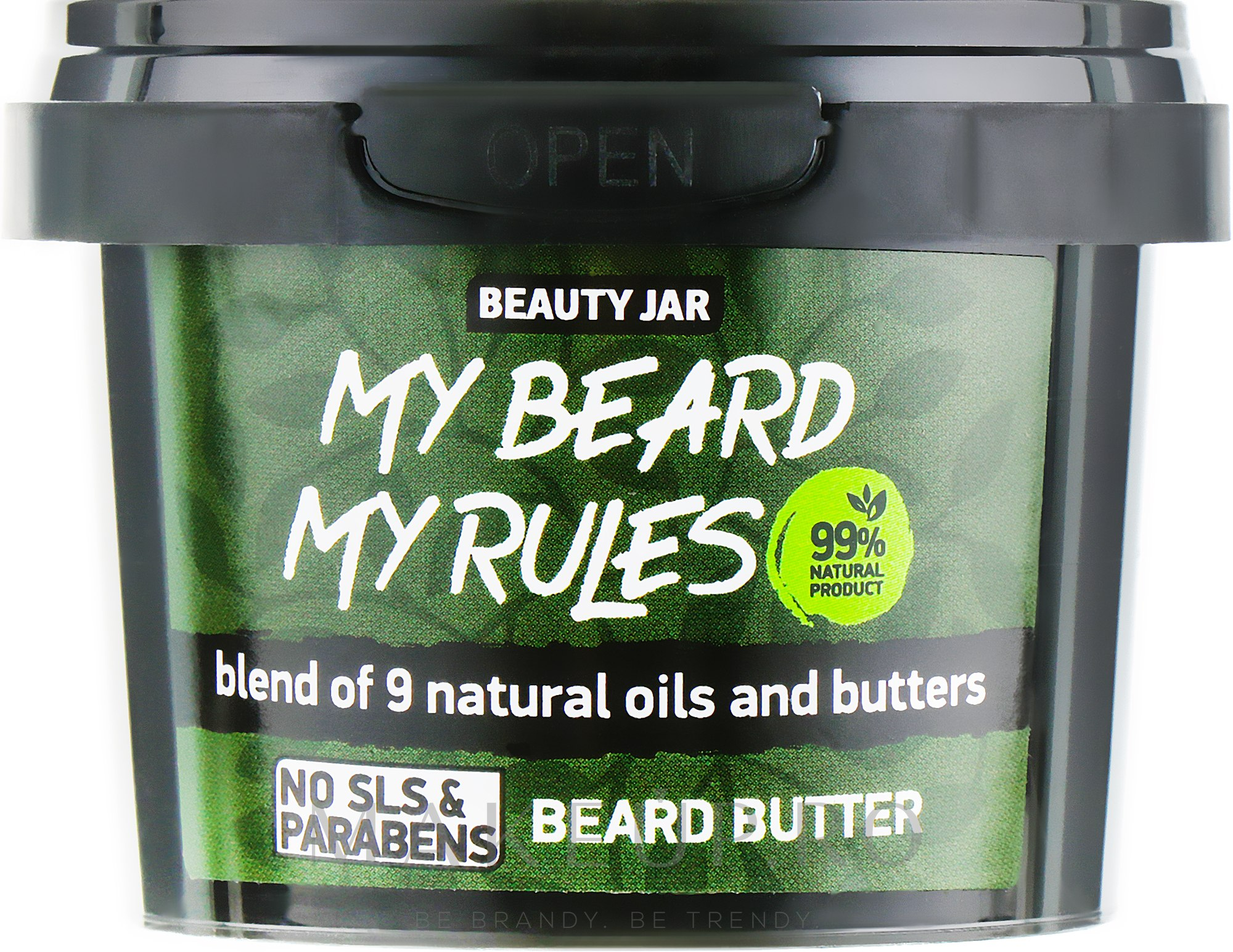 Ulei pentru barbă - Beauty Jar My Beard My Rules Beard Butter — Imagine 90 g