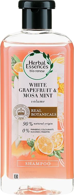 Șampon pentru volumul părului - Herbal Essences White Grapefruit & Mosa Mint Shampoo