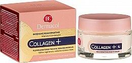Parfumuri și produse cosmetice Cremă de noapte cu efect anti-îmbătrânire - Dermacol Collagen+ Intensive Rejuvenating Night Cream