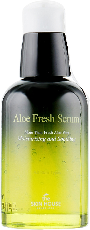 Ser hidratant și calmant cu extract de aloe - The Skin House Aloe Fresh Serum — Imagine N2