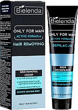 Parfumuri și produse cosmetice Cremă pentru epilat - Bielenda Only For Man Active Formula Cream