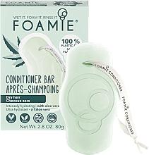 Parfumuri și produse cosmetice Balsam solid pentru păr uscat - Foamie Aloe You Vera Much Conditioner Bar Dry Hair