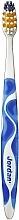 Periuță de dinți, tare, cu capac, albastru - Jordan Advanced Toothbrush — Imagine N1