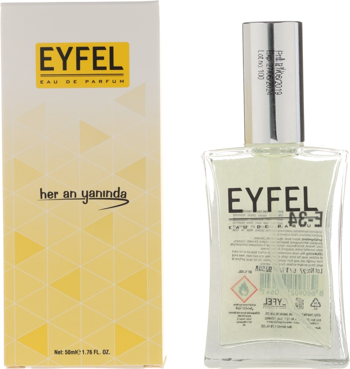 Eyfel Perfume E-34 - Apă de parfum — Imagine N1