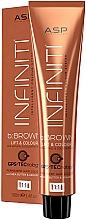 Parfumuri și produse cosmetice Vopsea de păr - Affinage Infiniti Colour B:Brown Lift & Colour