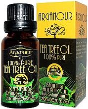 Parfumuri și produse cosmetice Ulei de arbore de ceai - Arganour 100% Pure Tea Tree Oil