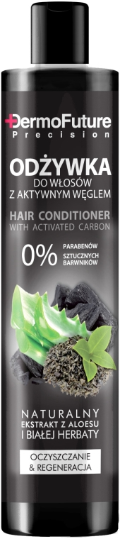 Balsam de păr cu carbon activ - DermoFuture Hair Conditioner With Activated Carbon