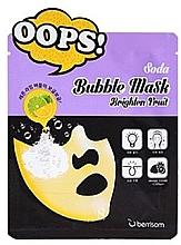Parfumuri și produse cosmetice Bubble Mask pentru strălucirea tenului - Berrisom Soda Bubble Mask Brighten Fruit