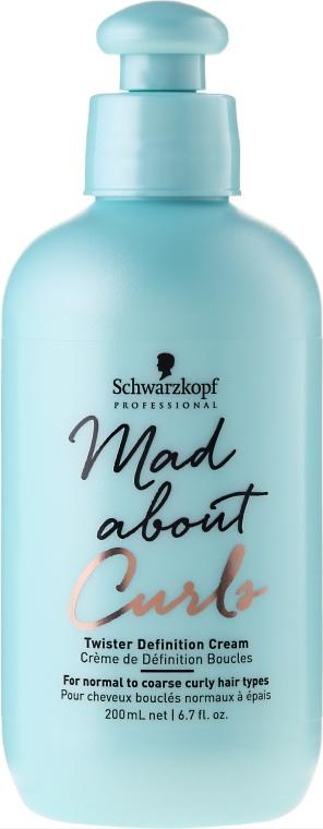 Cremă pentru păr - Schwarzkopf Professional Mad About Curls Twister Definition Cream