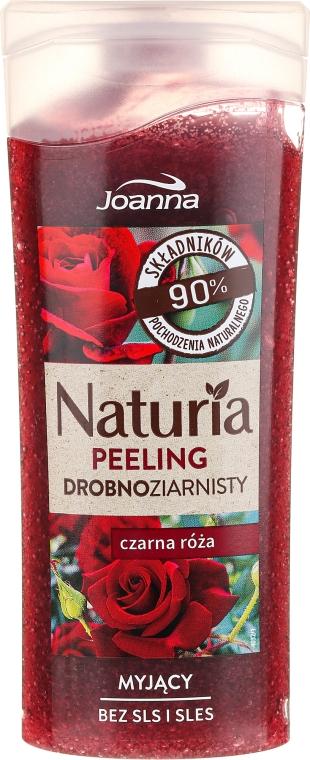 "Peeling fin pentru duș ""Trandafir negru"" - Joanna Naturia Peeling"
