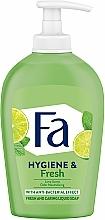 """Parfumuri și produse cosmetice Săpun lichid """"Aroma lime-ului"""" - Fa Hygiene & Fresh Liquid Soap"""