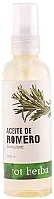 """Parfumuri și produse cosmetice Ulei de corp """"Rozmarin"""" - Tot Herba Body Oil Rosemary"""