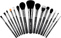 Parfumuri și produse cosmetice Set pensule pentru machiaj, T092, 15buc - Jessup