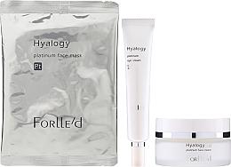 Parfumuri și produse cosmetice Set - ForLLe'd Platinum (cr/50g + eye/cr/9g + mask/2pcs)
