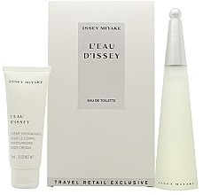 Parfumuri și produse cosmetice L'Eau D'Issey By Issey Miyake For Women - Set (edt/100ml + cr/75ml)