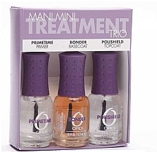 Parfumuri și produse cosmetice Set pentru manichiură - Orly Mani Mini Treatment Trio (primer/5.4ml + BaseCoat/5.4ml + TopCoat/5.4ml)