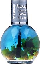 Parfumuri și produse cosmetice Ulei pentru unghii și cuticule - Silcare The Garden Of Colour Vanilla Sky Blue