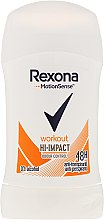 Parfumuri și produse cosmetice Deodorant-Stick - Rexona Motionsense Workout Hi-impact 48h Anti-perspirant