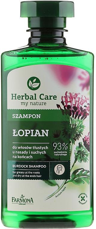 "Șampon ""Brusture"" - Farmona Herbal Care Shampoo"