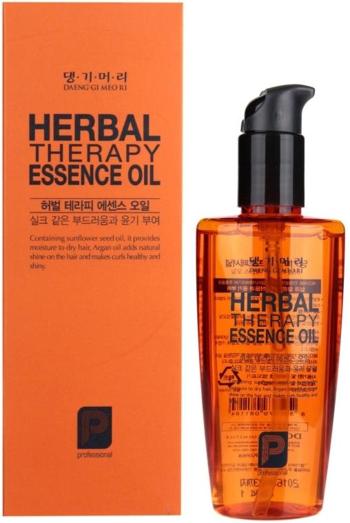 Ulei regenerant pe bază de plante pentru păr - Daeng Gi Meo Ri Herbal Therpay Essence Oil — Imagine N1