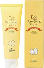 Parfumuri și produse cosmetice Spumă de curățare cu extract de ouă - The Skin House Egg Pore Corset Foam Cleaner