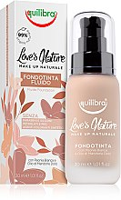 Parfumuri și produse cosmetice Fond de ten - Equilibra Liquid Foundation Fluid