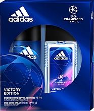 Parfumuri și produse cosmetice Adidas UEFA Champions League Victory Edition - Set (deo/spray/75ml+deo/150ml)