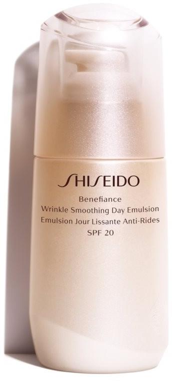 Ser facial de zi - Shiseido Benefiance Wrinkle Smoothing Day Emulsion SPF 20 — Imagine N1