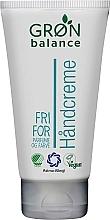 Parfumuri și produse cosmetice Cremă de mâini - Gron Balance Hand Cream