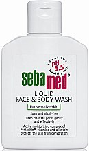 Parfumuri și produse cosmetice Loțiune demachiantă pentru față și corp - Sebamed Liquid Face and Body Wash