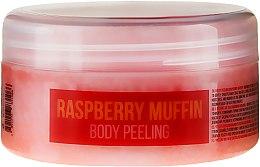"Parfumuri și produse cosmetice Scrub de corp ""Zmeură"" - Hristina Stani Chef'S Raspberry Muffin Body Peeling"