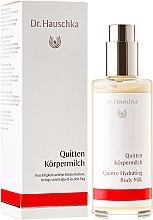 """Parfumuri și produse cosmetice Loțiune de corp """"Gutuie"""" - Dr. Hauschka Quince Hydrating Body Milk"""