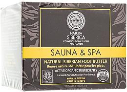 """Parfumuri și produse cosmetice Ulei siberian dens, natural pentru picioare """"Sauna & Spa"""" - Natura Siberica"""