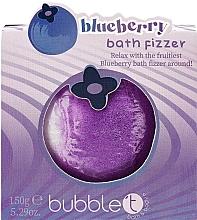 """Parfumuri și produse cosmetice Bombă de baie """"Afine"""" - Bubble T Bath Fizer Blueberry"""