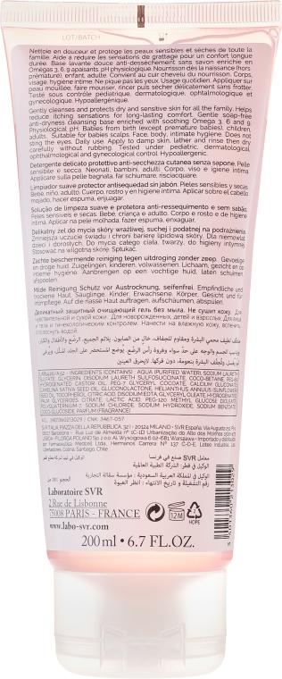 Gel de curățare pentru ten sensibil și uscat - SVR Topialyse Gel Lavant — Imagine N2