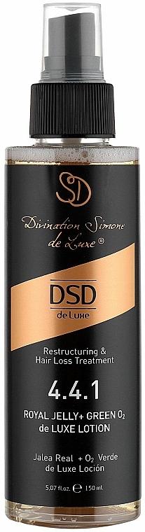 Loțiune cu dublă acțiune Royal Jelly + GreenO2 N 4.4.1 - Simone DSD De Luxe Royal Jelly + GreenO2 Lotion — Imagine N2