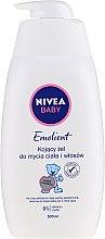 Parfumuri și produse cosmetice Gel de duș pentru copii - Nivea Baby Pure & Sensitive Emolient