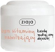 """Parfumuri și produse cosmetice Cremă hidratantă pentru față """"Vitamine"""" - Ziaja Face Cream"""